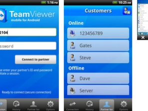 Team Viewer Arrive Sur Vos Smartphones Android
